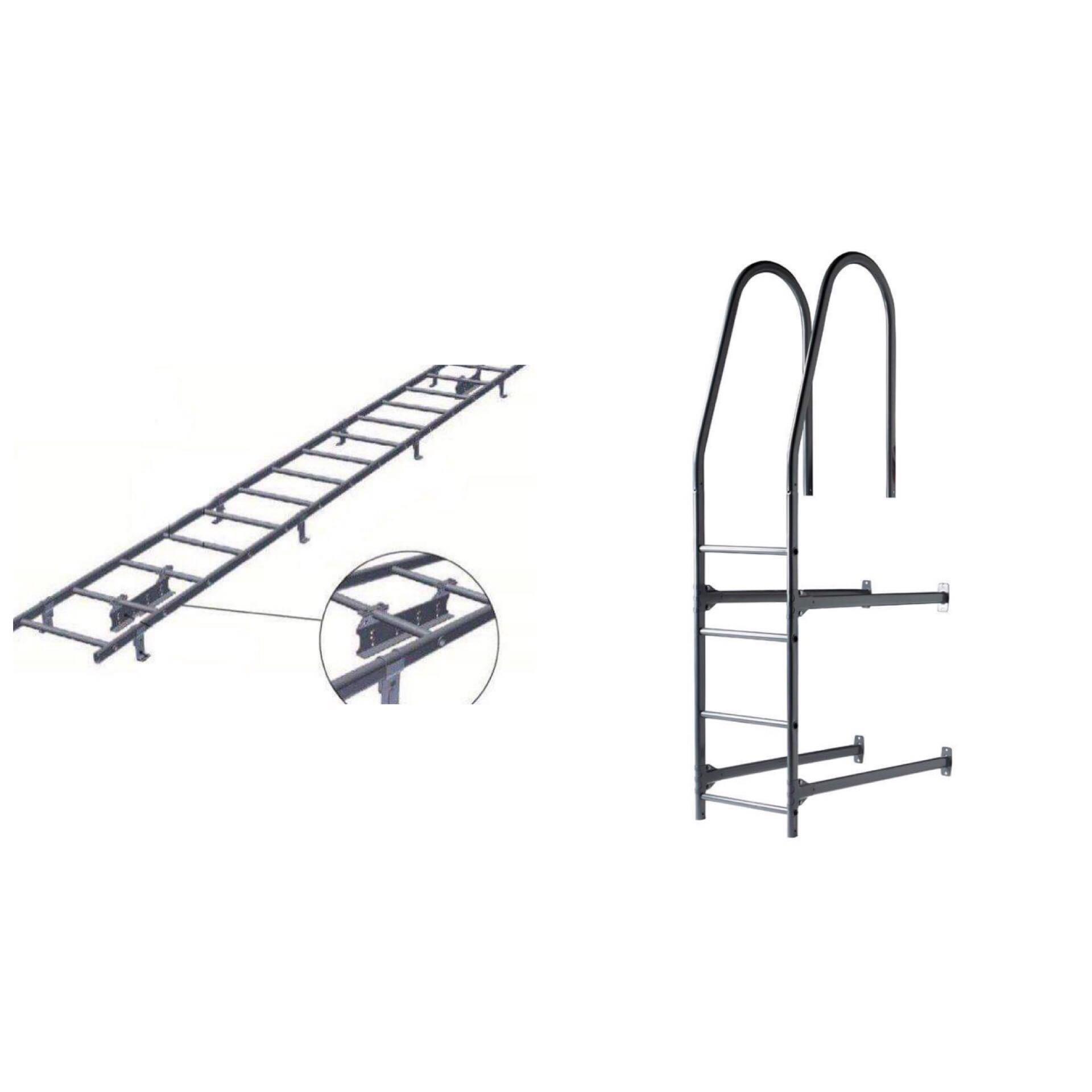 kattokiskot ja seinätelineet